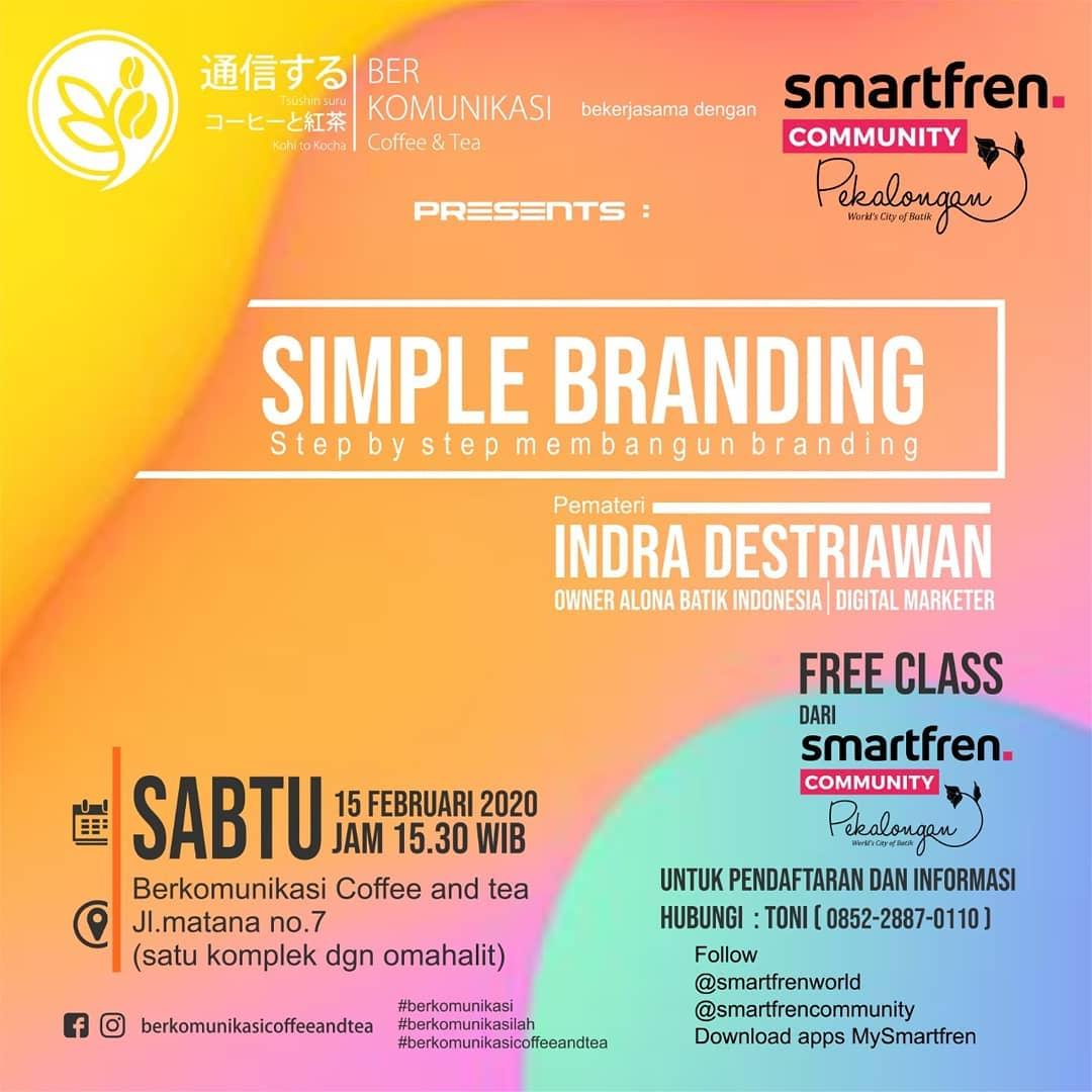 KelasBerkomunikasi Simple Branding