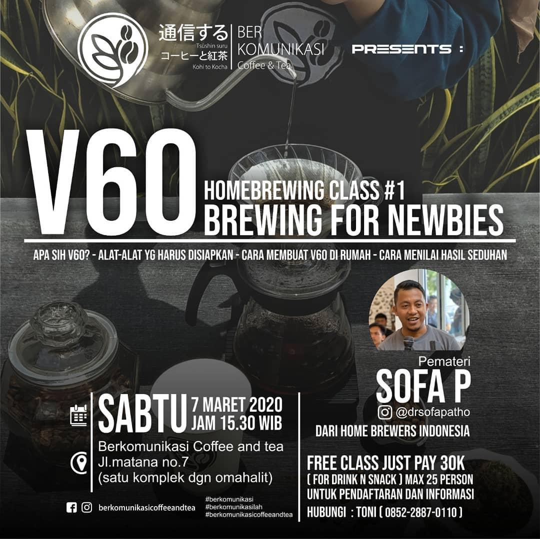 V60 Homebrewing